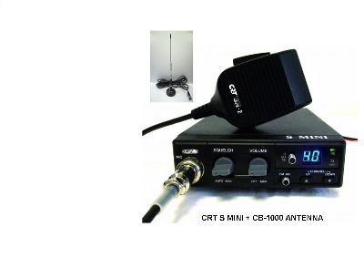 CRT S-MINI CB MULTI-STANDARD MOBILE RADIO PLUS CB-1000 ANTENNA