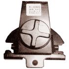 SHARMAN'S MB-800 HATCHBACK / TRUNK MOUNT ANTENNA BRACKET