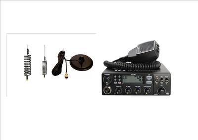 TTI TCB-881 Mobile CB Radio Multi-standard 12/24V INCLUDING BLACK MINI-SPRI