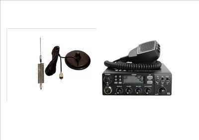 TTI TCB-881 Mobile CB Radio Multi-standard 12/24V INCLUDING CHROME MINI-SPR