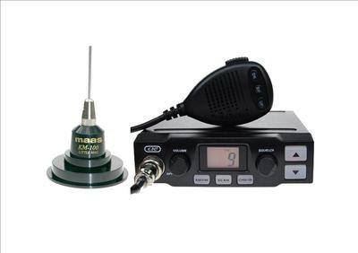K-PO K-500 CB MOBILE RADIO INCLUDING MAAS KM-100 ANTENNA