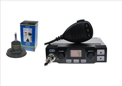 K-PO K-500 CB MOBILE RADIO INCLUDING MAAS KM-500 ANTENNA