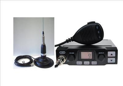 K-PO K-500 CB MOBILE RADIO INCLUDING SHARMAN CB-145 ANTENNA