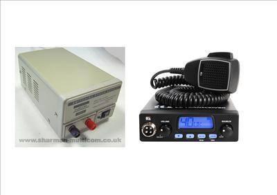 TTI TCB550 Mobile CB Radio Multi-standard 12V INCLUDING SM-3 13.8V POWER SU
