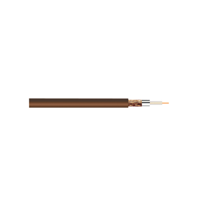Standard Digital RG6U Satellite 75 Ohm Cable brown (50 meters)