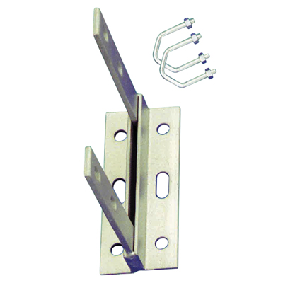 Aerial Wall Bracket with U Bolts