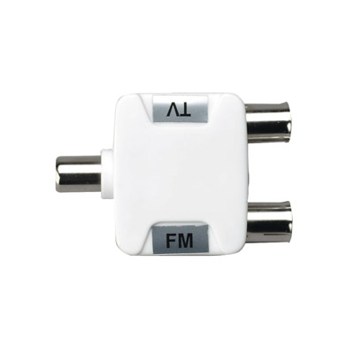 TV/FM Diplexer to Combine or Separate UHF TV and FM Radio Signals