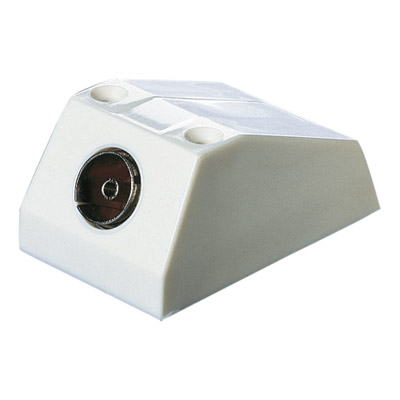 Surface Single Coaxial TV Outlet