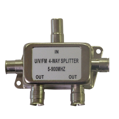 Low Loss Coaxial Splitter