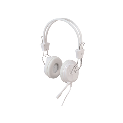 Professional Stereo Multimedia Headphones with Mic and Extended 2.2m Lead