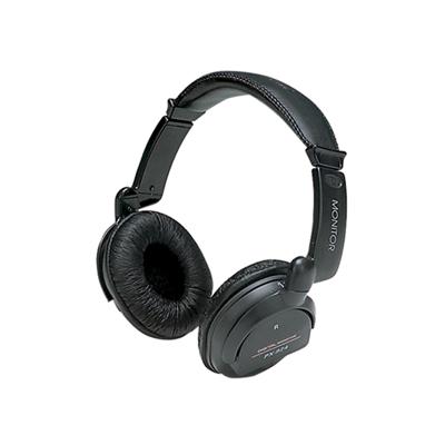 Digital Stereo Hi-Fi Headphones with Volume Controls