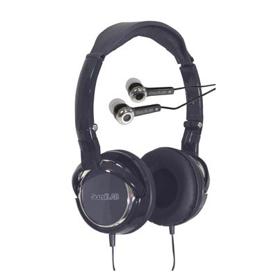Combo Pack of Digital Folding Stereo Headphones with Extended Bass and Digi