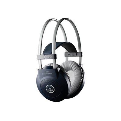 AKG K77 Closed-Back Circumaural Headphones With Self Adjusting Headband