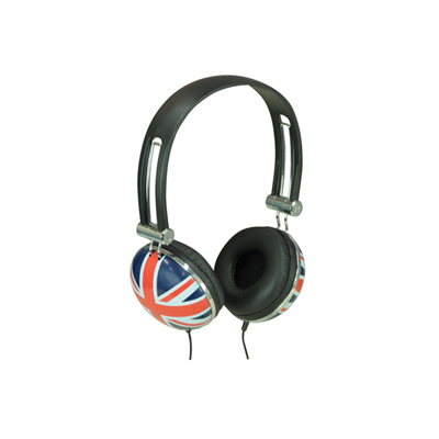 Flag Design Stereo Headphone