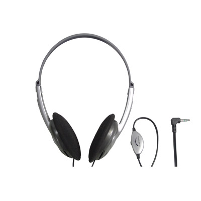 Lightweight Stereo Headphones with Volume Control