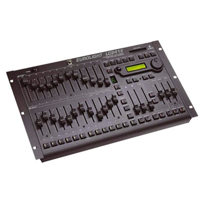 Behringer EUROLIGHT LC2412 24 Channel DMX Lighting Console