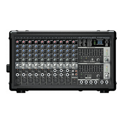 Behringer PMP2000 Europower Mixer Amplifier