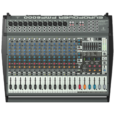 Behringer PMP6000 Europower Flatbed Mixer Amplifier
