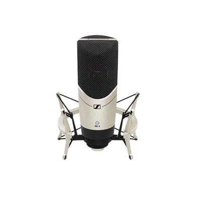 Sennheiser 'MK 4' Large Diaphragm Cardioid Condenser Microphone with Mic Cl