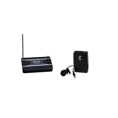 New Jersey Sound 174.5 MHz VHF Tie Clip Radio Microphone System