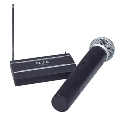 NJS VHF Handheld Radio Microphone System