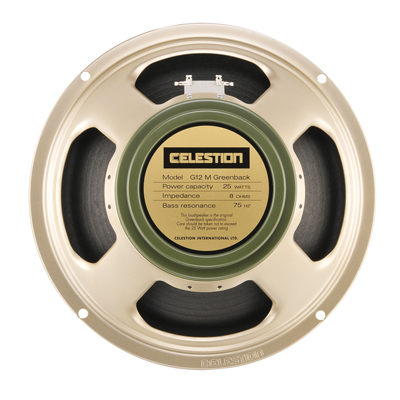 Celestion Silver G12M Greenback Chassis Speaker 25W (8 Ohm)