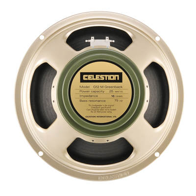 Celestion Silver G12M Greenback Chassis Speaker 25W (16 Ohm)