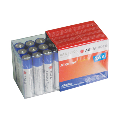 Agfa Photo Alkaline Battery AAA 24 Pack