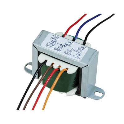 100 V Line Transformer Converting Line Signal To 8/16 Ohm with Tapings 1,2,