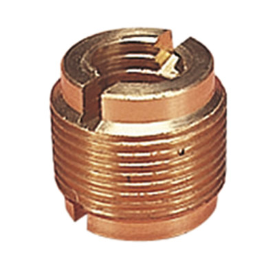 Brass Threaded Adaptor for Microphone Stands