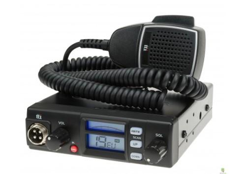 TTI TCB-565 COMPACT MOBILE CB RADIO (MULTI-STANDARD) 12/24V