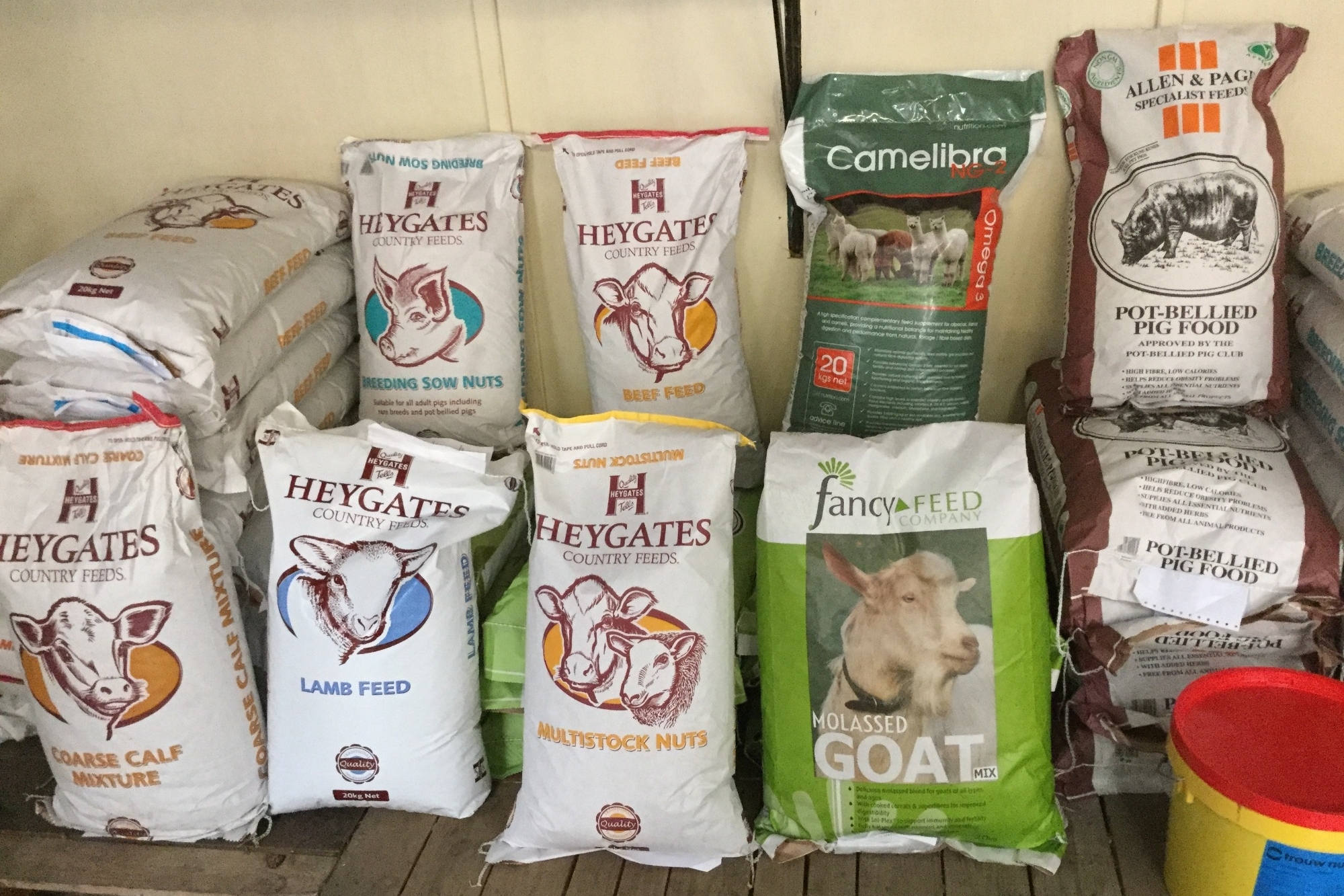 Farm animal food  at Riseholme Feeds
