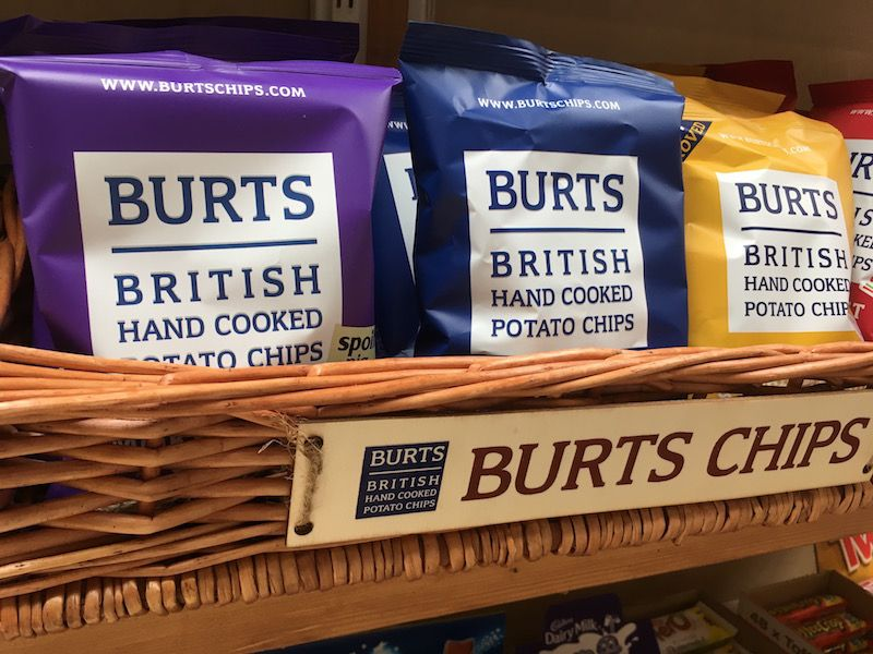 Burts Chips at Riseholme
