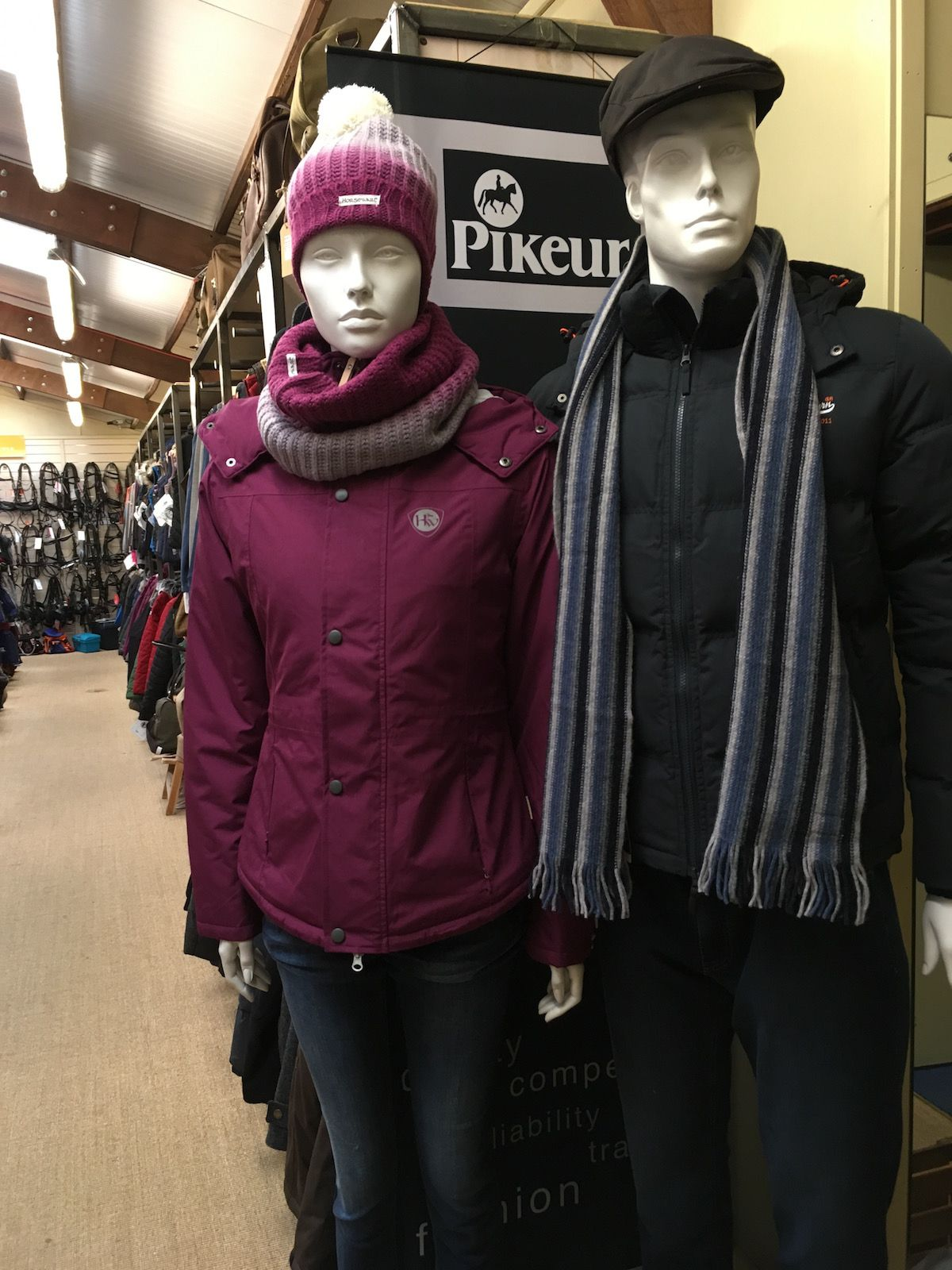 winter clothes at Riseholme Country Store