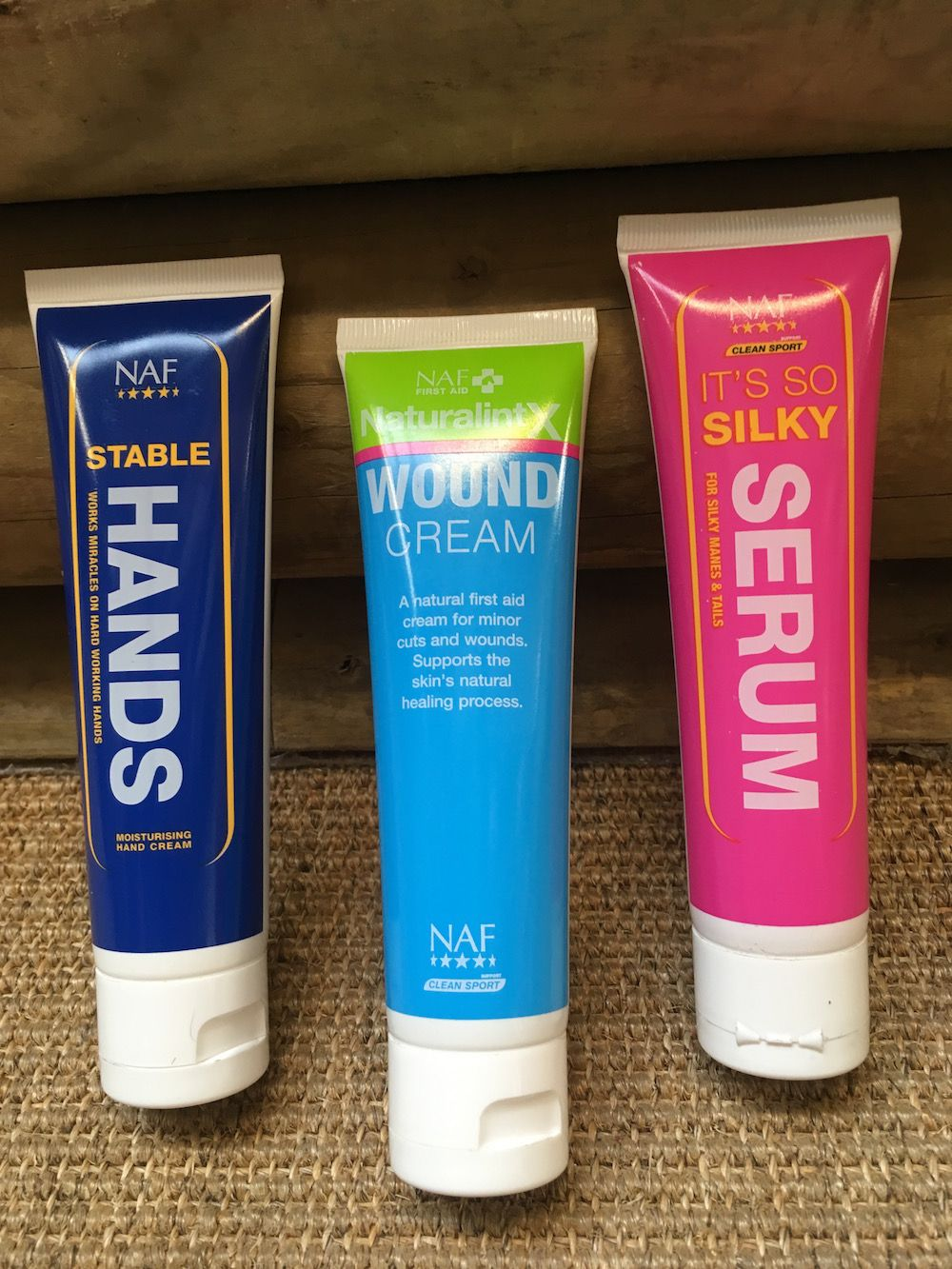 NAF products in new tubes