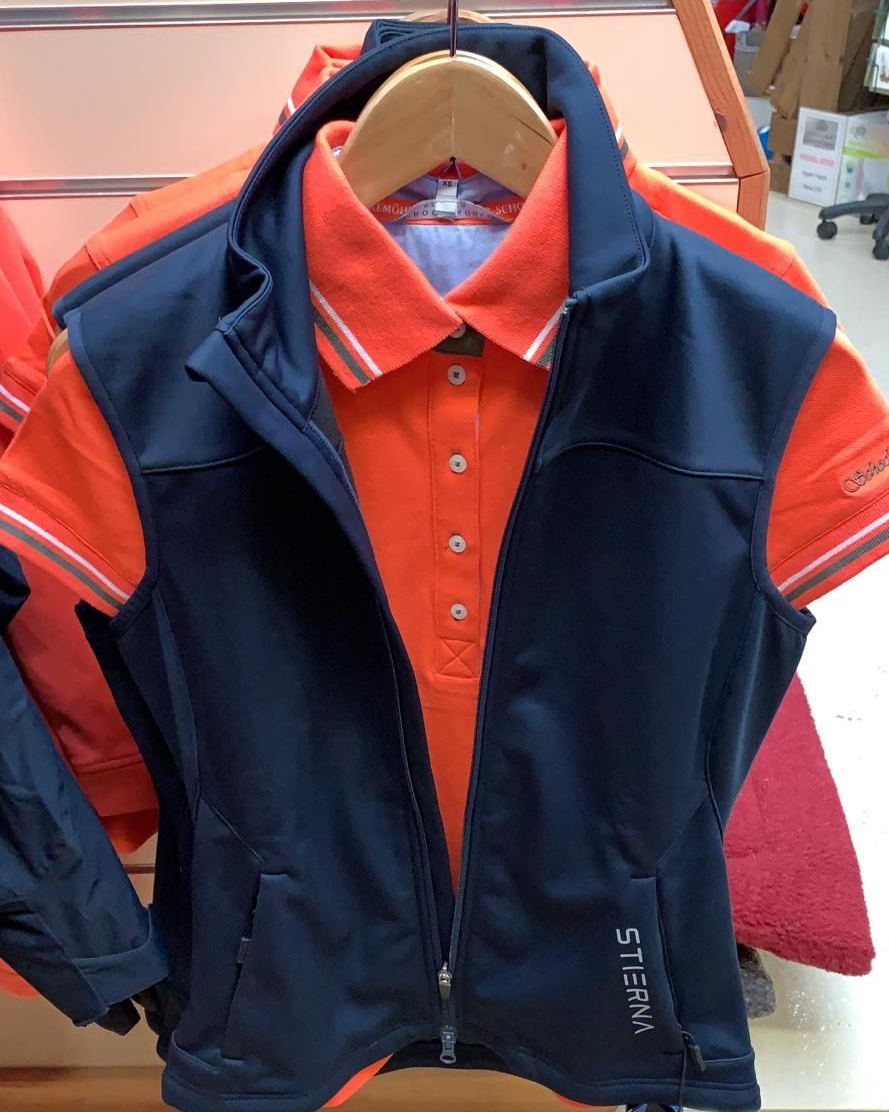 Orange & Navy Schockemöhle Sports