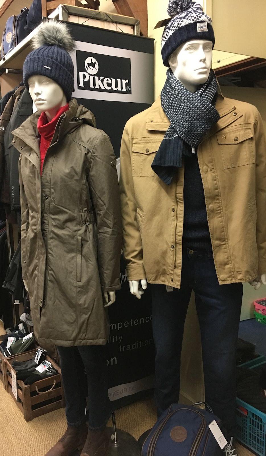 Models in autumn/winter