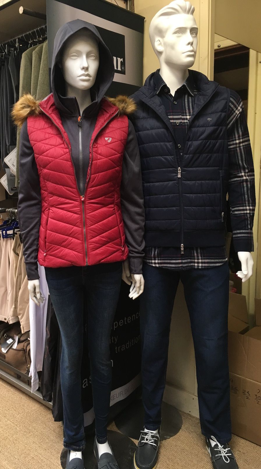 Gilets for winter