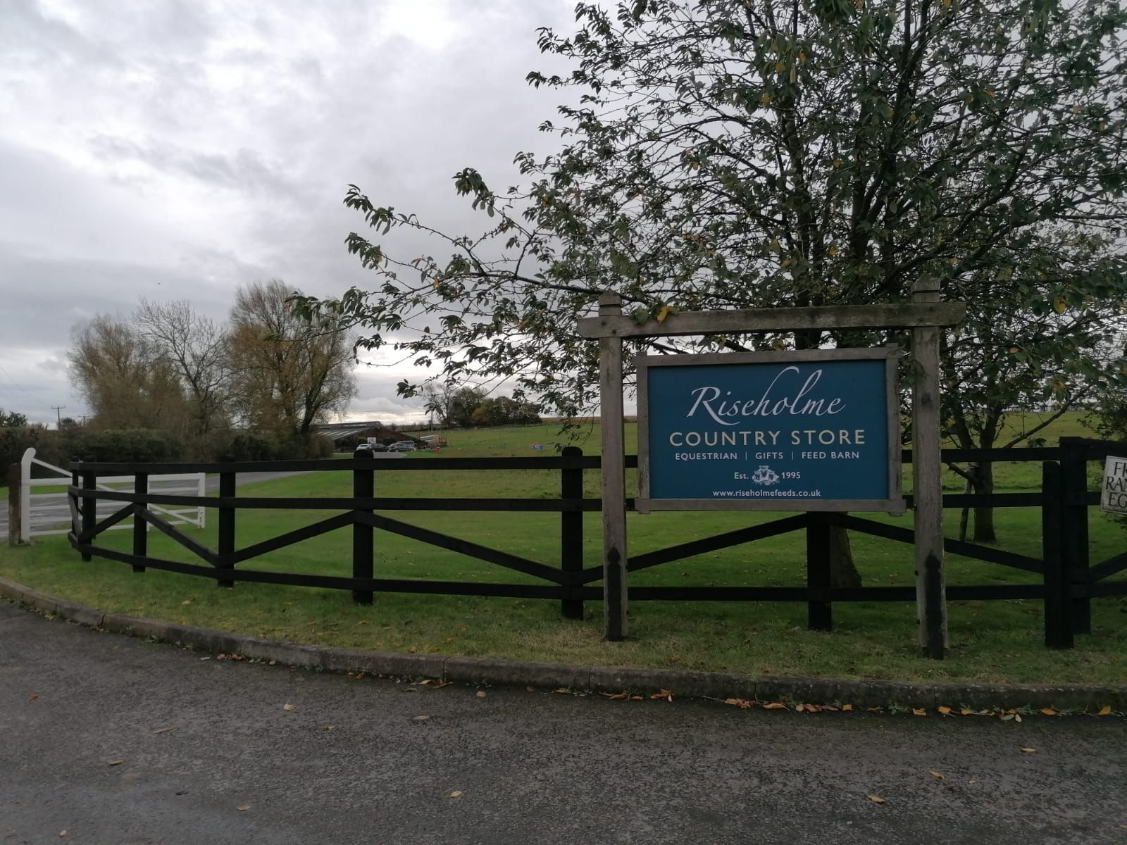 Riseholme Sign