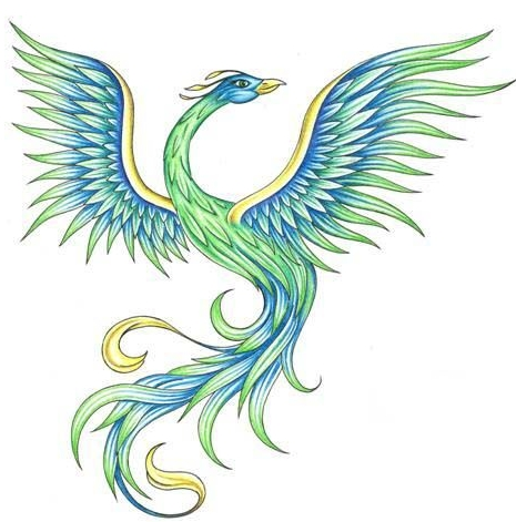 The Blue Green Phoenix
