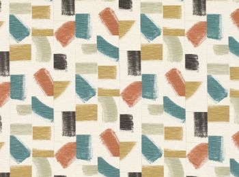 Villa Nova Fabrics & Wallcoverings - Huari Fabric Russet SAMPLE ONLY