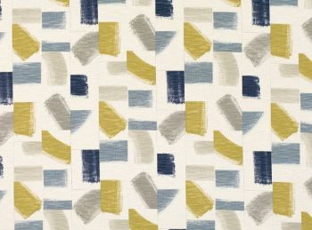 Villa Nova Fabrics & Wallcoverings - Huari Fabric Ink SAMPLE ONLY