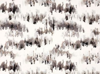 Villa Nova Fabrics & Wallcoverings - Norrland Carbon Fabric SAMPLE ONLY