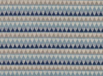 Villa Nova Fabrics & Wallcovering - Tobi Multi Lake Weave Fabric SAMPLE ONLY