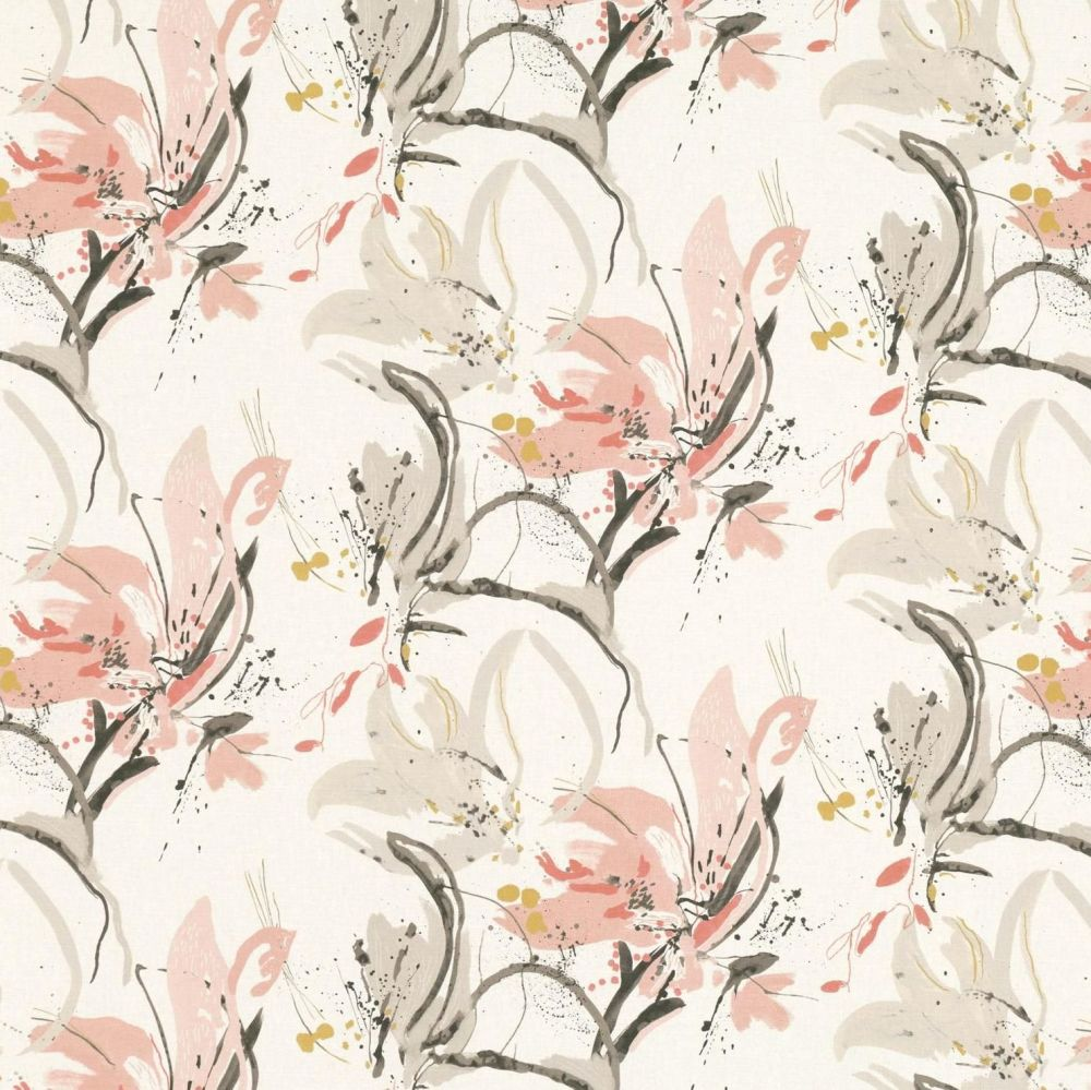 Villa Nova Fabrics & Wallcoverings - Artesia Blush Fabric