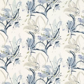 Villa Nova Fabrics & Wallcoverings - Artesia Ink Fabric SAMPLE ONLY