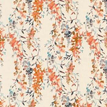 Villa Nova Fabrics & Wallcoverings - Hana Cinnamon SAMPLE ONLY