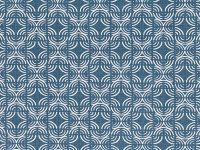 Romo Fabrics & Wallcoverings - Kashi Buxton Blue Fabric SAMPLE ONLY