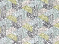 Romo Fabrics & Wallcoverings - Escher Multi Lovage Fabric SAMPLE ONLY