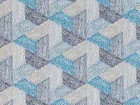 Romo Fabrics & Wallcoverings - Escher Multi Pacific Fabric SAMPLE ONLY